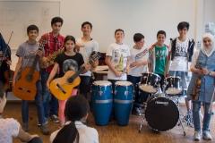 Die Musiker der Internationalen Klasse